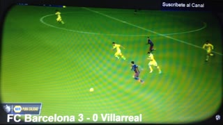 Neymar golazo vs Villareal - Video