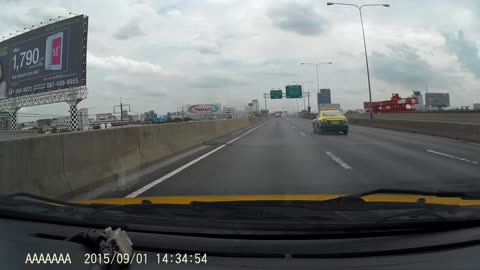 Reckless Driver Crashes While Passing