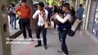 Amazing Street Performance by 2 young men