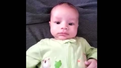 Precious Little Baby Tries To Talk, And Our Hearts Are Melting