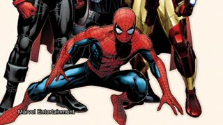 Spider-Man joins other Marvel heroes, Pattinson in Berlin - Video
