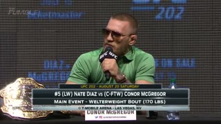 McGregor Diaz 2 Press Conference Highlights - Video