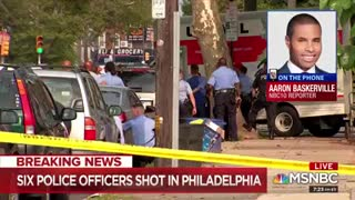 Six officers wounded in Philly