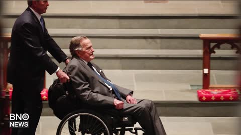 Former U.S. President George H.W. Bush Hospitalized in Houston