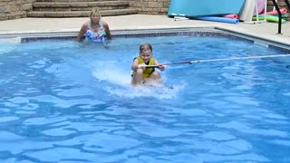 When Dogs Hit The Pool - Video