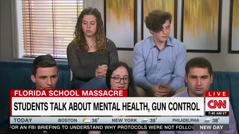 CNN Brings Five Florida High School Shooting Survivors on Show — They Blame the NRA