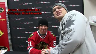 Interview with Chicago Blackhawks Player Brian Campbell - Video