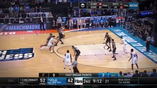 Lonzo Ball TAKES OVER vs Cincinnati in Round of 32 at 2017 NCAA Tournament - Video
