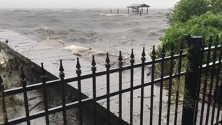 Hurricane Matthew getting closer.. - Video