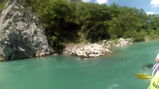 RAFTING ON NERETVA RIVER - KONJIC - Video