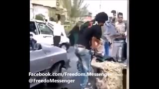 Passersby Intervened When Saw Iran's Police Brutality