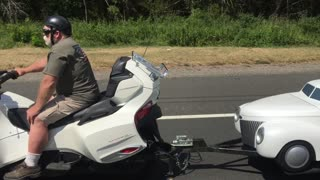 This Doggy Is The Perfect Travel Companion To His Biker Owner  - Video