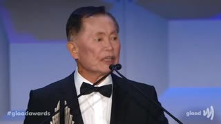 GLAAD Awards A Proud Occasion For George Takei And Kylie Minogue - Video