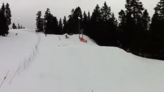 Backflip faceplant fail! - Video