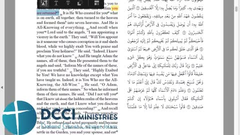 30 different Arabic Qurans by Muslims (that's a lot of one perfect Quran!)