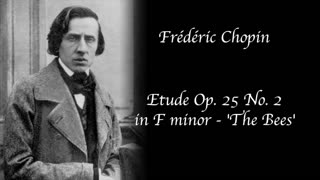 Frédéric Chopin - Etude Op. 25 No. 2 in F minor - 'The Bees'
