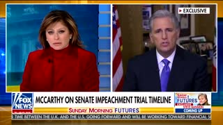 Kevin McCarthy touts Nancy Pelosi articles theory