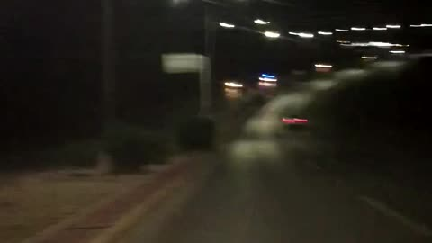 Car Drives on Wrong Side of Highway