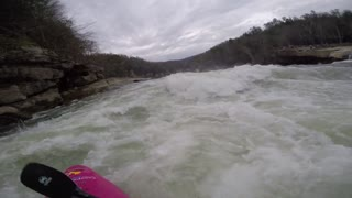 GoPro - Dane Jackson Kayak over Cumberland Falls - Video