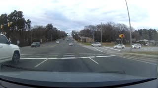 DashCam Captures Crazy Driver