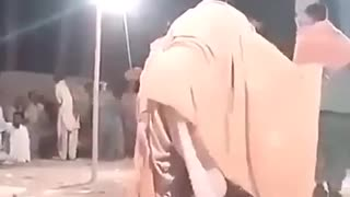 A weird traditional dance - Iran - Video