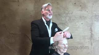 MAKEOVER: 76 and Starting Over, by Christopher Hopkins, The Makeover Guy® - Video