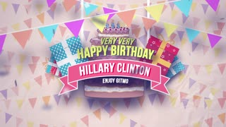 Happy Birthday Crooked Hillary!