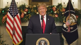 President Donald Trump Address to the US nation clip
