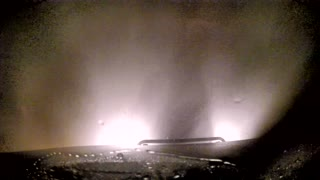 Storm Chaser Drives into 2 Ft. of Standing Water at 60mph. - Video