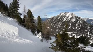 Man Has Close Call with Avalanche