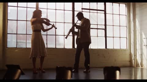 Stunning saxophone and violin cover of John Legend's 'All Of Me'