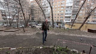 Just Going For A Walk In The Russian City Of Samara - Video