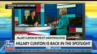 Fox & Friends Agrees With Hillary Clinton
