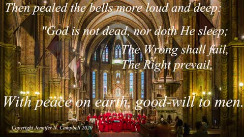I Heard the Bells on Christmas Day - Poetry in Sound