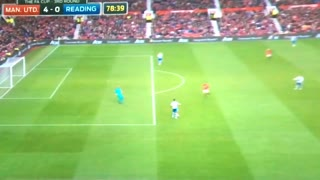 Marcus Rashford goal vs Reading 4-0 - Video