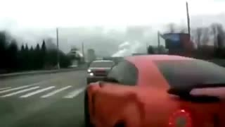 Funny Supercar - Crazy GT R R35 Driving fails Part 3 - Video