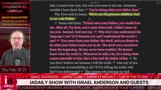 The iaDAILY Show with Israel Anderson - 210218