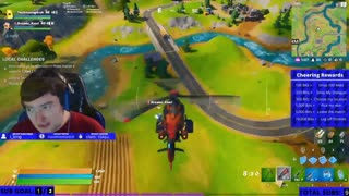 Oh - It feels like the fast and furious now in Fortnite!