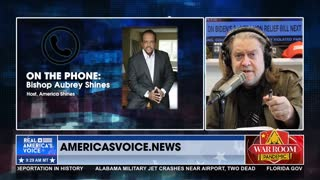 Steve Bannon interviews Bishop Aubrey Shines