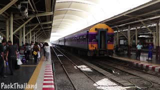 Train From Bangkok To Surin