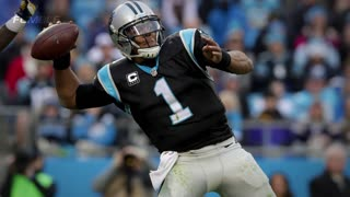 Cam Newton FORCED To Leave Chargers Game After Helmet Hit - Video