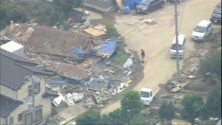 Japan counts cost of flooding