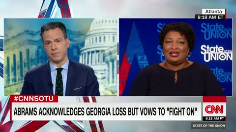 Stacey Abrams still refuses to concede defeat