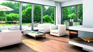 Best Design large windows Modern Design - House with panoramic windows