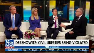 Alan Dershowitz slams ACLU as 'partisan, hard-left' group - Video