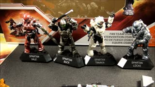 MEGA BLOKS HALO FIRETEAM OSIRIS - Video