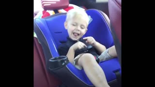 Baby brother backseat beats - Video