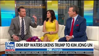 In Unhinged Rant, Maxine Waters Compares Trump to Kim Jong-Un - Video