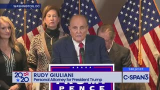 Rudy Guilliani - Big Tech & Big Media Censorship As Bad As Election Fraud