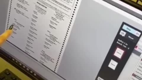Election supervisor shows how votes can be changed live time on Dominion